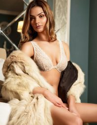 Petite escort Kyra in fur coat - Eastern European escort in City of London, Central London